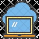 Cloud Data Cloud Computing Data Sync Icon