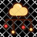 Cloud Data Cloud Data Icon
