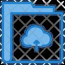 Upload Cloud Folder Icon