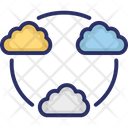 Cloud Share Storage Icon