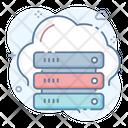 Distributed Cloud Cloud Computing Cloud Data Icon