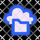 Cloud Folder Access Icon