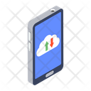 Cloud Data Cloud Computing Cloud Hosting Icon