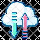 Cloud Data Cloud Cloud Access Icon