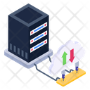 Cloud Data Cloud Uploading Cloud Downloading Icon