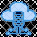 Cloud Data Storage Cloud Network Icon