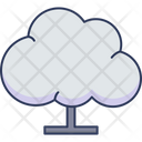 Cloud Data Network Cloud Icon