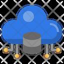 Cloud Data Cloud Server Storage Icon