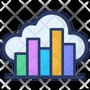 Cloud Data Analysis Icon