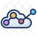 Cloud Computing Cloud Data Analysis Cloud Formation Icon