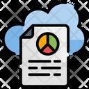 Cloud Data Analytics Icon
