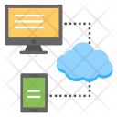 Cloud Data Backup Icon