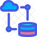 Cloud Data Base Icon