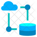 Cloud Data Base Cloud Database Database Connection Icon