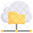 Cloud Data Collection Icon