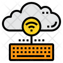 Cloud Control Keyboard Icon