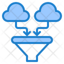 Cloud Data F Ilter Icon