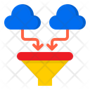 Cloud Data F Ilter Icon