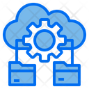 Cloud Gear Folder Icon