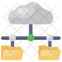 Share Cloud Cloud Network Cloud Data Network Icon