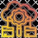 Cloud Gear File Icon