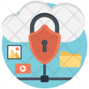 Protection Privacy Cloud Icon