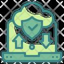 Cloud Data Security Cloud Internet Icon