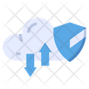 Cloud Data Security Cloud Cloud Network Security Icon
