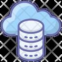 Cloud Data Server Icon