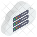 Cloud Data Server Icon