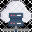 Cloud Data Server Database Hosting Icon