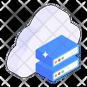 Cloud Data Server Cloud Computing Cloud Storage Icon