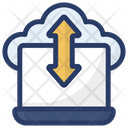 Cloud Data Share Cloud Technology Cloud Computing Icon