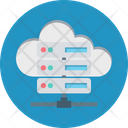 Cloud Data Sharing Cloud Computing Cloud Network Icon