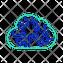 Icloud Data Storage Cloud Data Storage Cloud Storage Icon