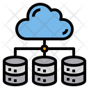Cloud Data Stroage Icon