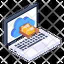 Cloud Storage Cloud Data Storage Online Storage Icon