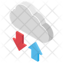 Cloud Data Sync Icon