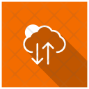 Cloud data synchronization Icon