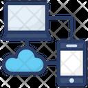 Data Exchange Data Transformation Data Converting Icon