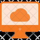 Cloud data synchronization Icon