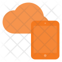 Cloud Tablet Data Icon