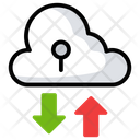 Cloud Data transfer Icon