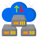 Network Transfer Cloud Icon