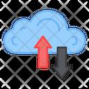 Cloud Data Transfer Data Transmission Data Synchronisation Icon