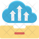 Cloud Data Transmission Cloud Tray Cloud Upload Icon