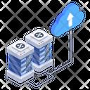 Cloud Data Cloud Upload Cloud Data Upload Icon