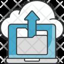Cloud Data Uploading Icon