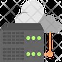 Database Cloud Server Server Icon