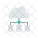 Cloud Server Connect Icon